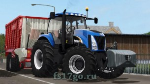 Мод «New Holland TG series» для Farming Simulator 2017