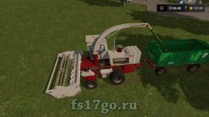 Мод комбайна «КСК 100» для Farming Simulator 2017