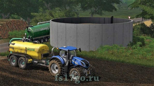 Мод «Slurry storage» для Farming Simulator 2017