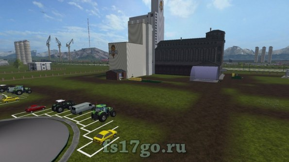 Карта «City from Vaszics» для Farming Simulator 2017