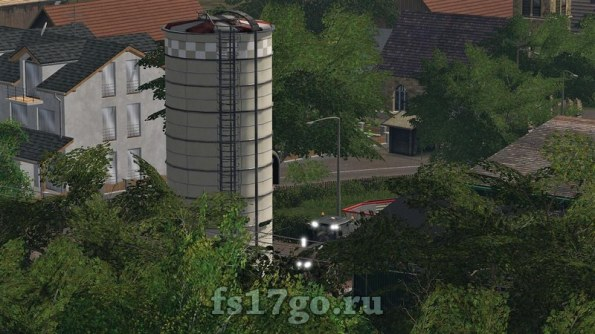 Мод «Towersilo» для Farming Simulator 2017