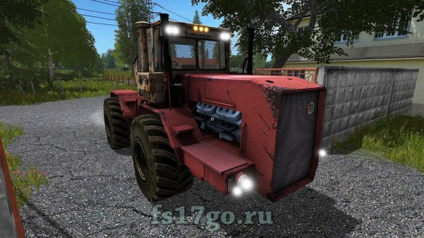 Мод трактора «Кировец К-710» для Farming Simulator 2017