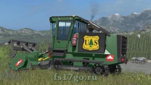 Корчеватель пней Galotrax 800 Officiel Farming Simulator 2017