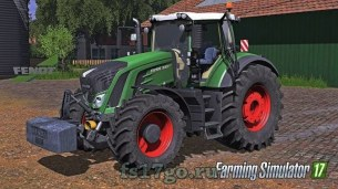 Мод «Fendt 900 Vario Full» для Farming Simulator 2017