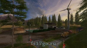 Карта «Pine Cove Production RUS» для Farming Simulator 2017