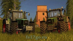 Мод «FENDT 800 Favorit» для Farming Simulator 2017