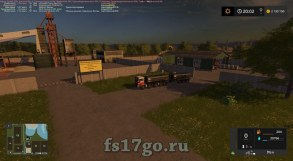 Карта «СВАПА Агро» для Farming Simulator 2017