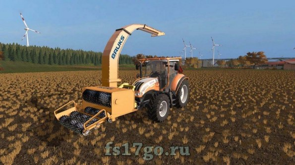 Мод «Brucks Multicolor» для Farming Simulator 2017