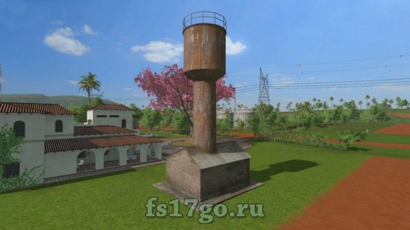 Мод «Water Tower Trigger Placeable» для Farming Simulator 2017