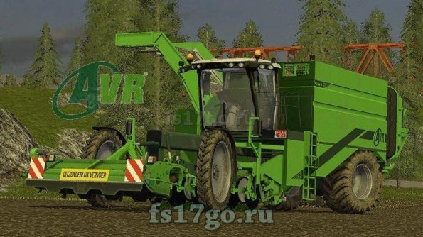Мод «AVR Puma Neue Version» для Farming Simulator 2017