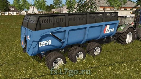 Мод прицеп «PENTA DB 50» для Farming Simulator 2017