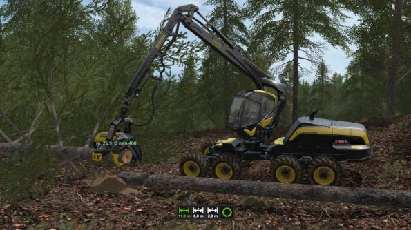 Мод «Wood Harvester Automation» для Farming Simulator 2017