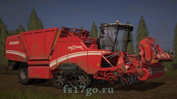 Мод «Grimme Maxtron 620 II» для Farming Simulator 2017
