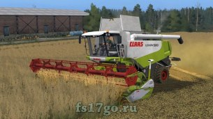 Мод «Claas Lexion 580/580TT» для Farming Simulator 2017