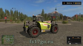 Мод «Claas Scorpion 7055»для Farming Simulator 2017