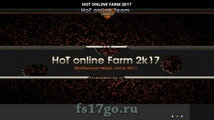 Карта «HoT online Farm 2K17 Lite» для Farming Simulator 2017