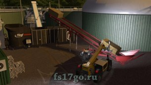Конвейер «Bales And Wood Conveyor Belt» для Farming Simulator 2017