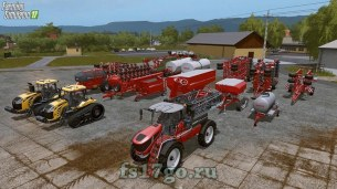 Мод «Horsch AgroVation DLC» для Farming Simulator 2017
