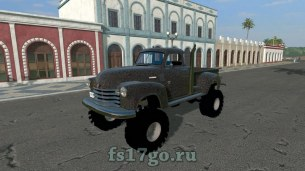 Мод «1950 Chevy 4x4 Pickup Truck» для Farming Simulator 2017