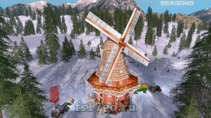 Карта «NorgeCrest Valley 17 Seasons» для Farming Simulator 2017