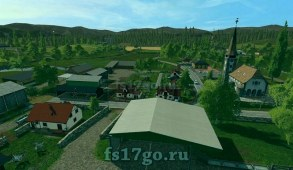 Мод карта «Klingenbach» для Farming Simulator 2017