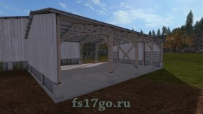 Мод «Two Placeable Sheds» для Farming Simulator 2017