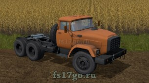Мод тягача «ЗиЛ-Э133ВЯТ» для Farming Simulator 2017