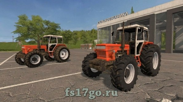 Мод «Fiat 1300 DT Super» для Farming Simulator 2017