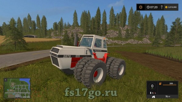 Мод «Case 2870» для Farming Simulator 2017
