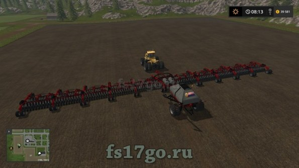 Сеялка «Caseih Cart Air Seeder 50 метров» для Farming Simulator 2017