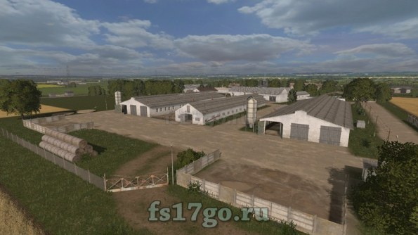 Мод Карта «Lehndorf» для Farming Simulator 2017