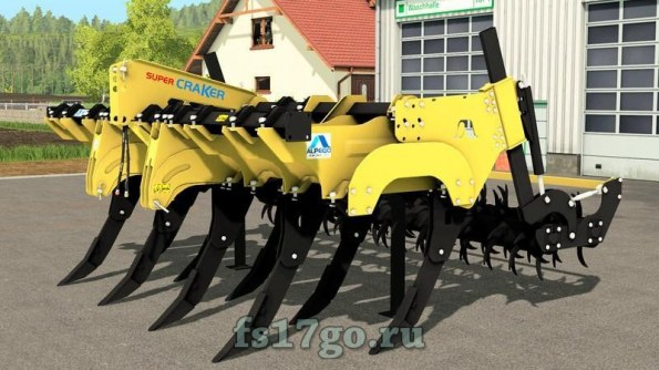 Мод «Alpego Super Cracker KF9-400» для Farming Simulator 2017