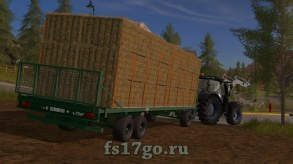 Мод «Fliegl DPW Pack» для Farming Simulator 2017