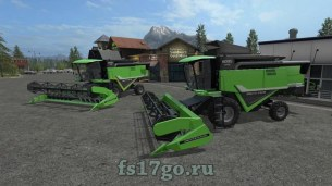 Мод «Deutz-Fahr HTS 6095» для Farming Simulator 2017