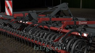 Культиватор «Saphir GE601» для Farming Simulator 2017