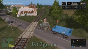 Карта PGR Bruzda (Russian Villages) для Farming Simulator 2017
