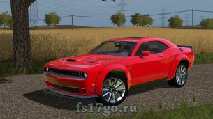 Мод «Dodge Challenger SRT Hellcat» для Farming Simulator 2017