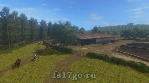 Карта «The Valley The Old Farm» для Farming Simulator 2017