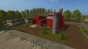Карта «Modified Bjornholm» для Farming Simulator 2017