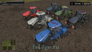 Мод «Case Quad Trac 620» для Farming Simulator 2017