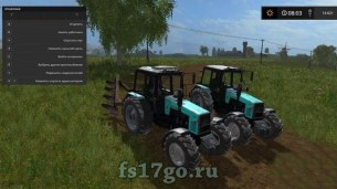 Мод трактор «МТЗ-1221 Тюнинг» для Farming Simulator 2017