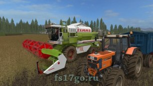 Мод «Claas C540 folding cutter» для Farming Simulator 2017.
