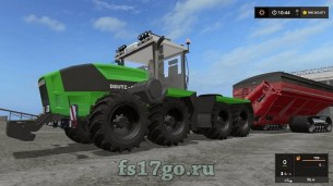 Мод «Deutz-Fahr Agro XXL» для Farming Simulator 2017