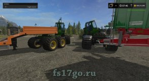 Мод «Jd Crawler Semi» для Farming Simulator 2017