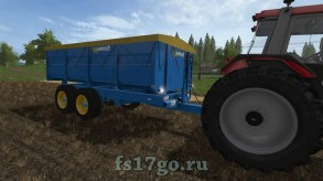 Мод «West 10T Grain Trailer» для Farming Simulator 2017