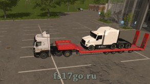 Мод «Fliegl Low Loader Objectattache» для FS 2017
