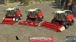 Мод комбайна «РСМ-1403» для Farming Simulator 2017