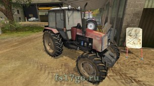 Мод «MTZ-1221 Belarus от Kirilas08» для Farming Simulator 2017