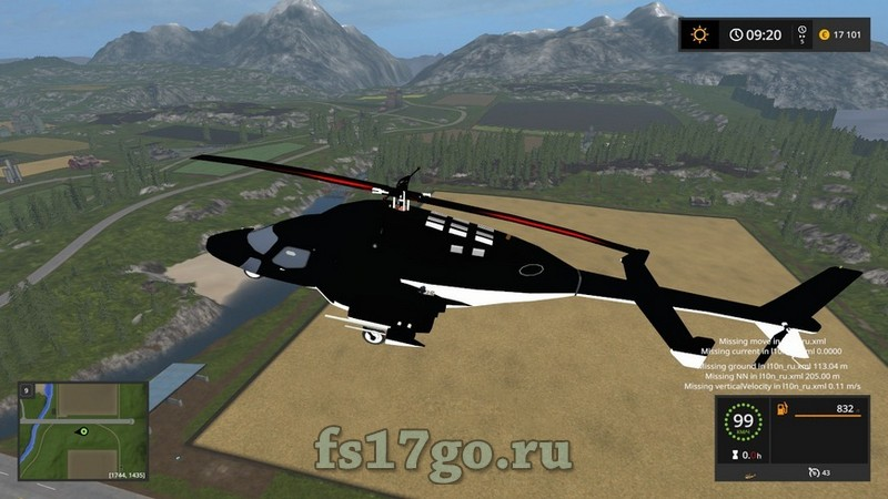 Скачать мод farming simulator 2018 на вертолет