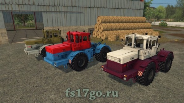 Мод «Кировцы К-700А и К-701» для Farming Simulator 2017